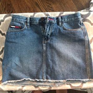 Vintage Tommy Hilfiger Jean Skirt Size 5